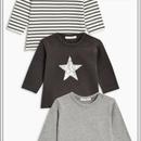 Tシャツ 3 枚セット (0~24か月)