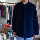 Needles Oriental Button Stand Collar Coverall - Velvet