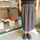 Slow Hands Linen / Cotton glencheck skirt