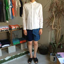 Slow Hands Vegetable dye flower print sashico shorts