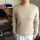 FACTORY 綿×麻 クルーネックセーター (長袖)