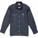 【Lee】 WORK SHIRTS Long (Blue)/ワークシャツ長袖(ブルー)