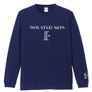 iSOLATED ARTS-Standard Long Sleeb Tshirts(Navy)-General Price
