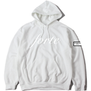"18SS / forte original ""All White"" Leather Patch Pull Over Parka"