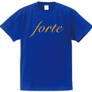 forte BIG LOGO T-shirts(BLUE/ORANGE) - General Price