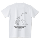 "forte""MAKE""Big Silhouette Pocket T-shirts(White) - General Price"
