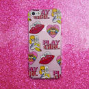 'PLAY GIRL' iPhoneSE/5S/5専用ケース