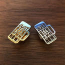 F&M LAPEL PIN 「JBFN」GOLD / SILVER