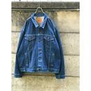 """Levi's"" 70506 tracker jacket インディゴ USA製 表記54"