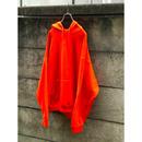 00s oversized sweat hoodie オレンジ 表記2XL