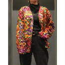 vintage silk design jacket