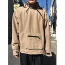 90年代 リネンデザインジップアップジャケット