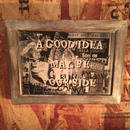 "Wall Mini Frame ""A GOOD  IDEA MAY BE YOUR SIDE"""