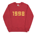 1998-Crewneck Sweater – Red