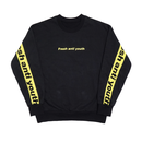 Band-Crewneck Sweater – Black/Yellow