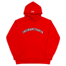 1998 College Hood Sweater – Red