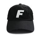 Fray Logo Ball Cap – Black
