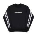Band-Crewneck Sweater – Black/White