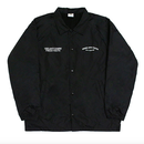 Fray Coach-Jacket – Black