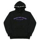 M.O.Y Hood Sweater – BlackPurple