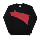 Wave-Crewneck Sweater – Black