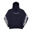 Band Hood Sweater – Navy