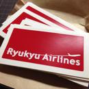 イシガキシマステッカー / 琉球航空(1枚入り)