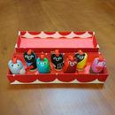 「七福猫」イリオモテヤマネコ コレクション BOX / サンプルセール / 送料無料