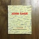 「JOHN CAGE An Anthology」Richard Kostelanetz