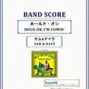 サム&デイヴ ( SAM & DAVE )  / ホールド・オン  (HOLD ON, I'M COMIN')   バンド・スコア(TAB譜) 楽譜