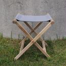 lefz-sk-03 折りたたみ椅子グレイ