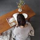 現品限り対象 Lv-HW0024  ボーテ センターテーブル ウォールナット材