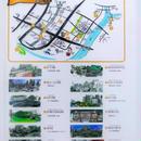 築地探検MAP クリアファイル四の巻 池波文学巡り編