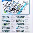 築地探検MAP クリアファイル 壱の巻 橋巡り編