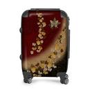 Japanese style butterfly emblem art Suitcase
