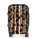 Hibiscus and baroque decoration Suitcase