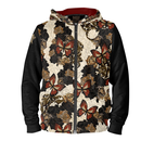 Rose and Butterfly Unisex Hoodie