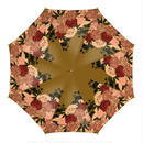 Japanese style Peony design Umbrella