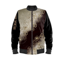 Japanese traditional Family emblem Man's Bomber Jacket