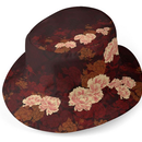 Peony flower art Bucket Hat