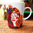 マグカップ(オレンジパープル)