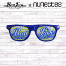 BeatJack×nunettesサングラス(ブルー)