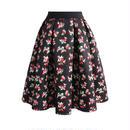 華やかな小花柄プリントスカート
