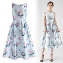 ヒットオフサマープリントドレス
