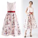 グレースフローラルプリントドレス