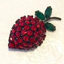 オーストリアフルーツ 苺のブローチ(BR0413)