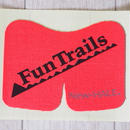 【FunTrailsオリジナル ニーダッシュ:マゼンダ】New-HALE Knee DASH