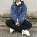 Nautica blue sleeve logo nylon jacket