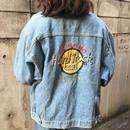 Hard rock cafe cancun denim jacket