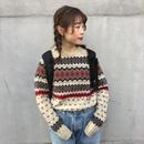 Woopnich border knit